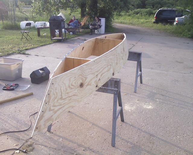 how to make a canoa of plywood free