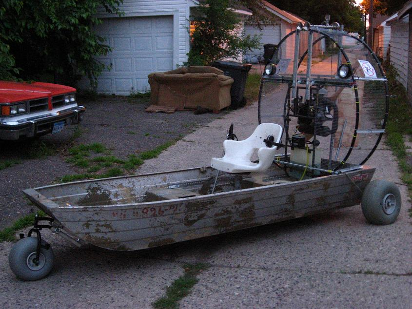 Latest Project: Mini-airboat | Saveitforparts