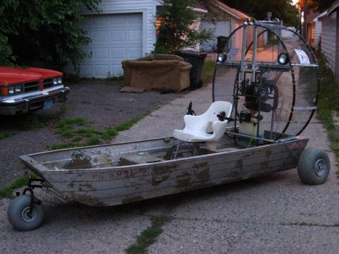LolaLinu: How to build a jon boat airboat