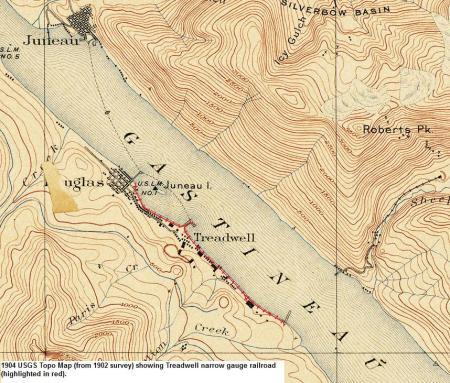 Treadwell Railroad 1902