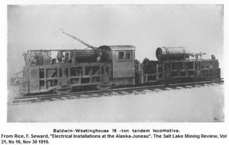 AJ locomotive