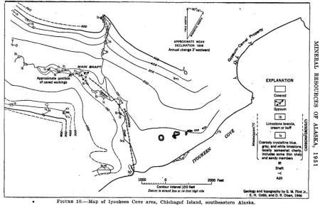 Gypsum map