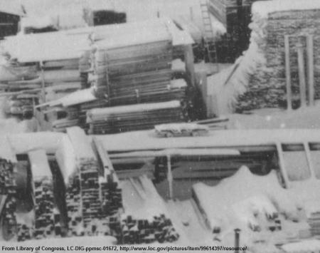 Nome lumber yard