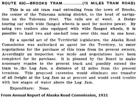 Tolovana Tram 1921