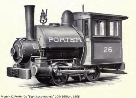 porter 0-4-0