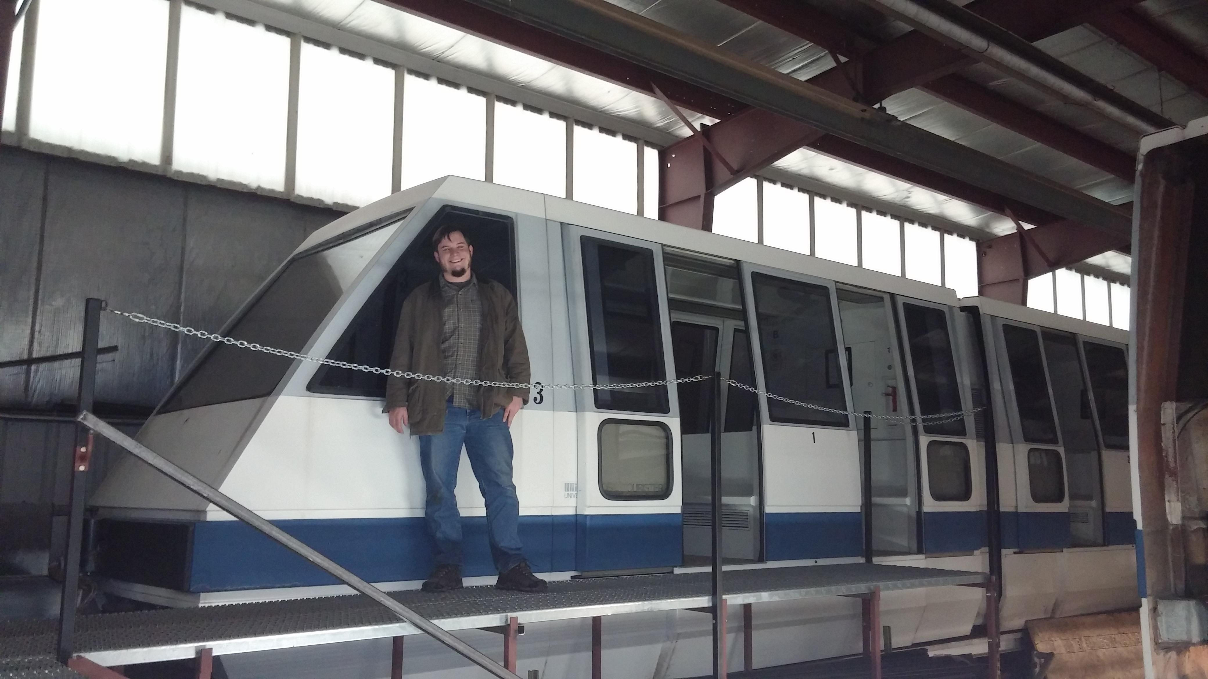 the purchase of a genuine bona fide electrified six car monorail