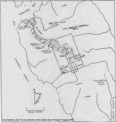Dano map