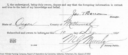 signatures 1910