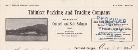 letterhead 1905
